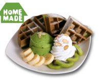GreenTea Waffle